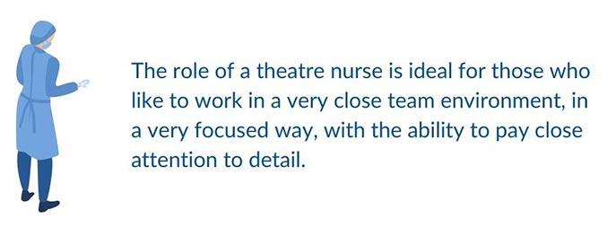 theatre nurse job role image